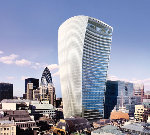 20 Fenchurch Street from the monument