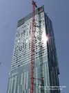 Beetham Tower Manchester under construction