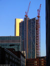Broadgate Tower under construction, February 2007