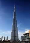 The completed Burj Dubai