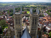 Lincoln Cathedral towers