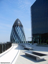 The Gherkin from the Willis Building
