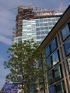 30 Crown Place under construction June 2008