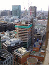 30 Crown Place under construction March 2008