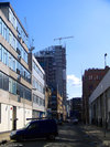 30 Crown Place under construction April 2008