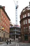 Chancery Place under construction October 2007